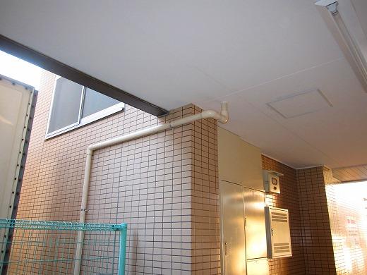 事前に施工した配管の写真2